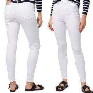 NWOT Topshop Moro Jamie White Jeans